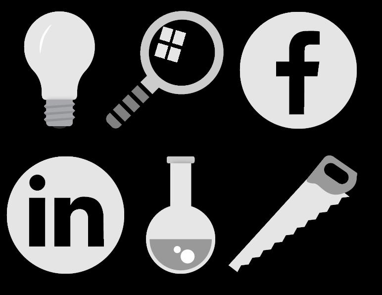 Ikoner, logo, grafisk design, visualisering